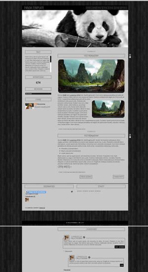 Blogspot template Panda