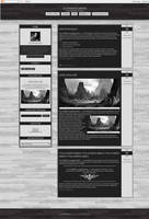 Blogspot template - Black or White