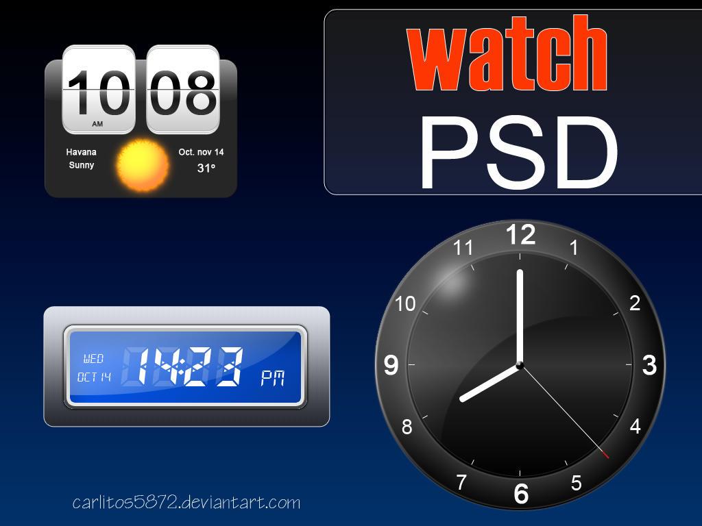 Watch PSD by carlitos5872