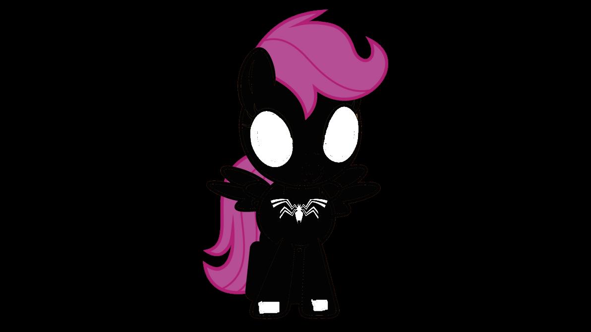 Black Spider Filly