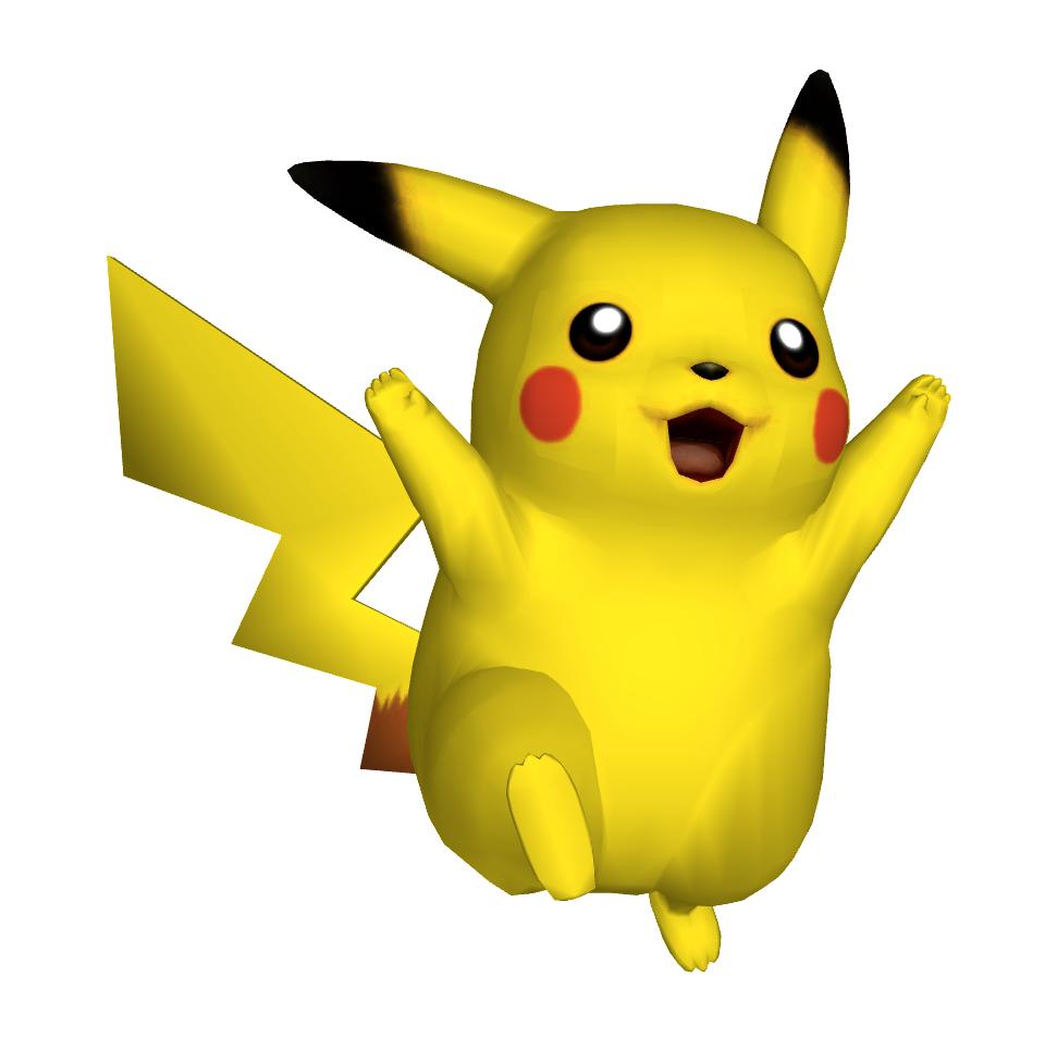 Pikachu And Samus Super Bros Brawl