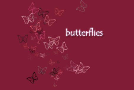 butterflies brush by digitalTouch