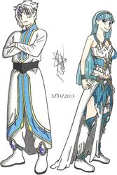 OVA Guru Clef and Special Armor Mode Umi by Xepher06