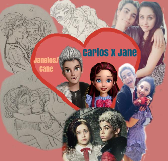 Janelos/Cane (Carlos X Jane) by AwesomeOKingGuy0123 on