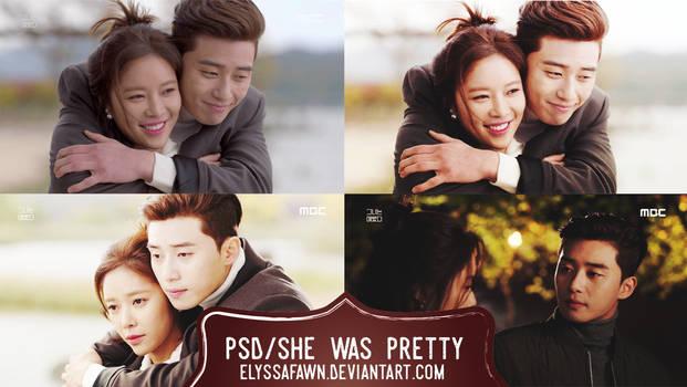 PSD | She Was Pretty