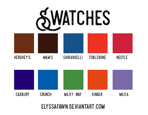 Swatches #5 Chocolate Brands