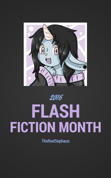 Flash Fiction Month 2016 by TheRedSephaos