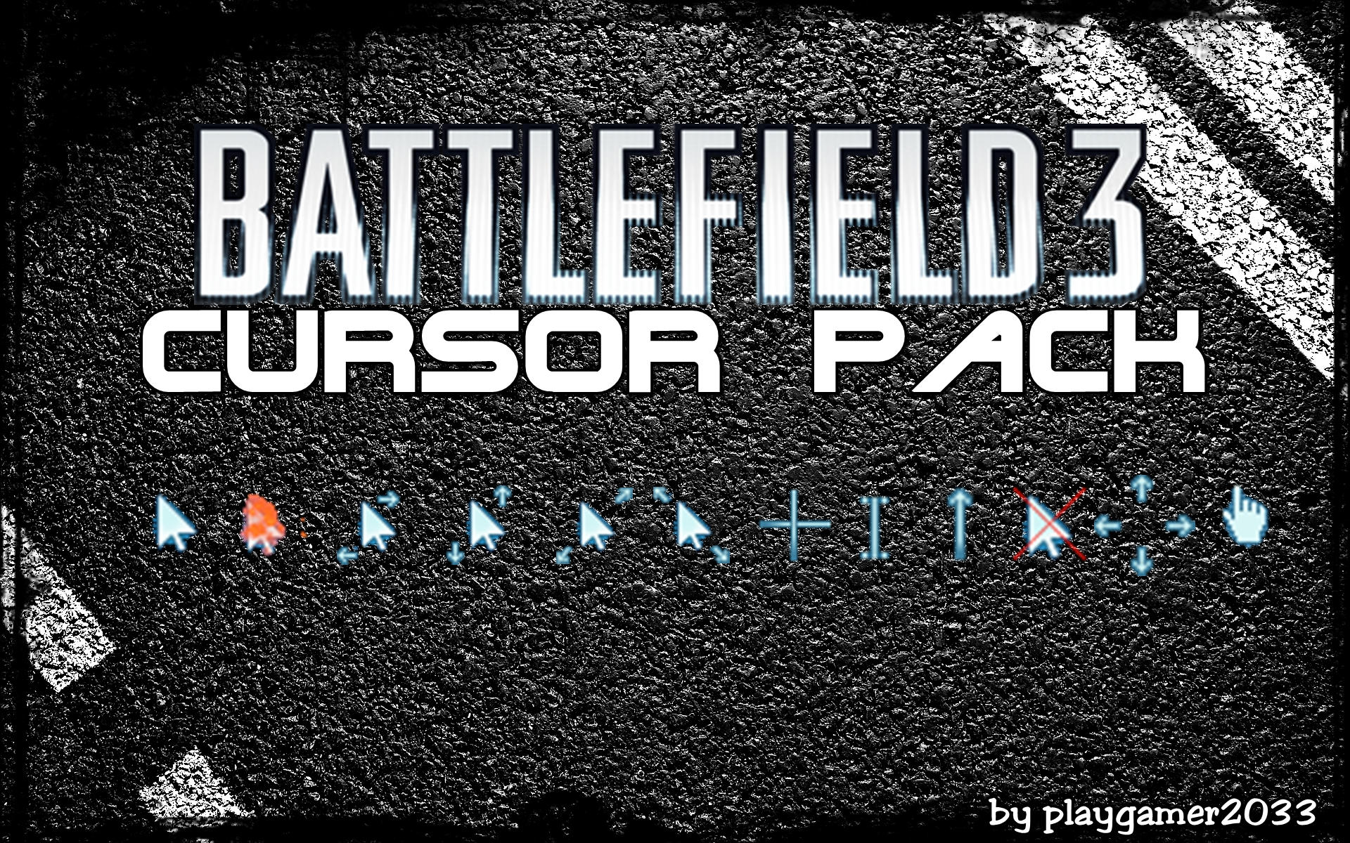 Battlefield Cursor Pack By
