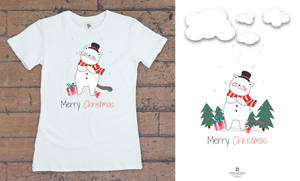 Marry Christmas t-shirts design