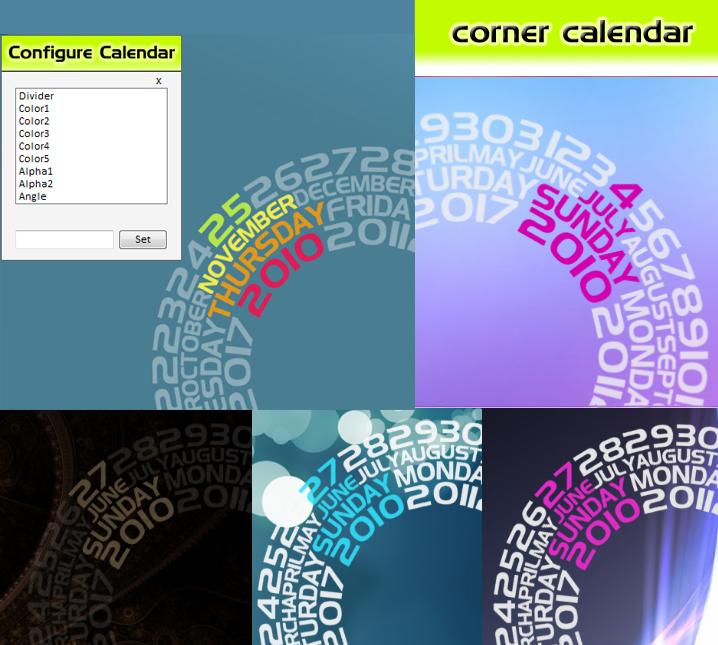 Corner Calendar v2.2