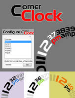 Corner Clock v1.0 by FreakQuency85