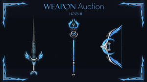 [CLOSED] ANIMATED WEAPON AUCTION (Click to view)#1