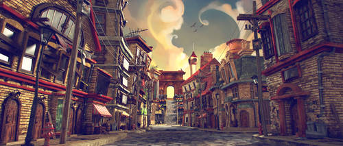 The Piper's Alley - Opening Shot by kewel72000