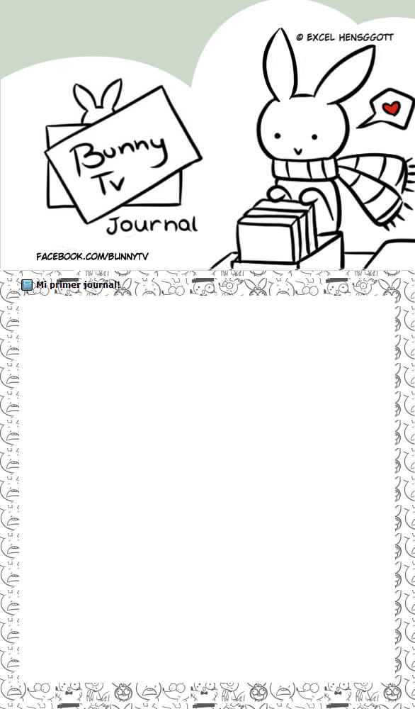 Journal Bunny Tv CSS by Exceru-Hensggott