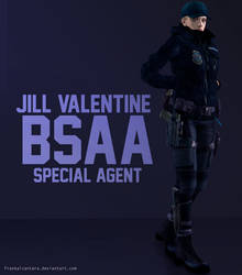 XPS Model - Jill Valentine BSAA Special Agent