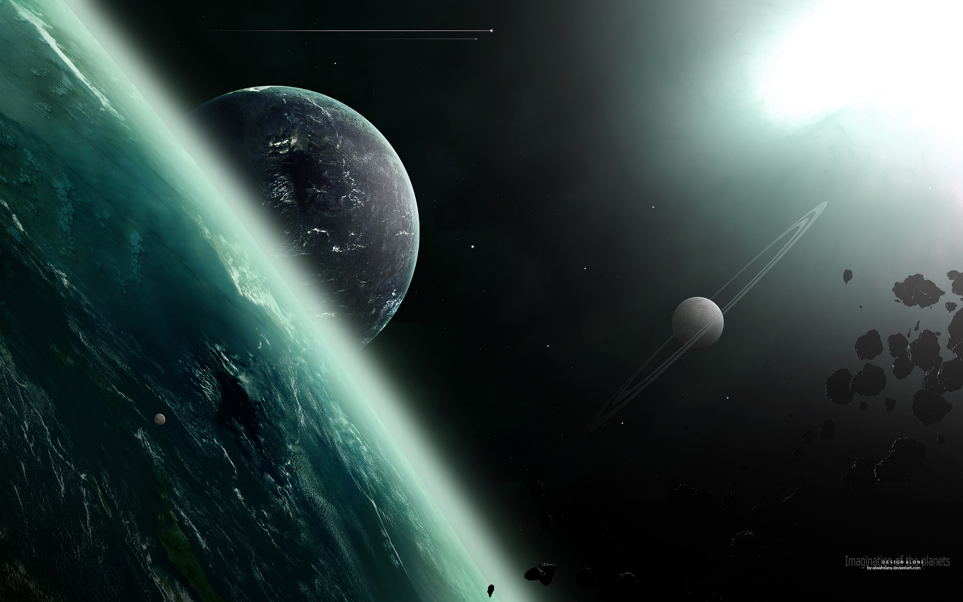 Imagination of the planets
