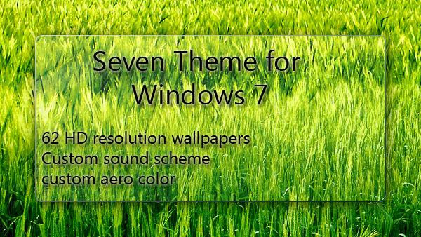 Seven Theme for Windows 7