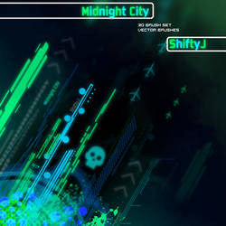 Midnight City - Vector Brushes