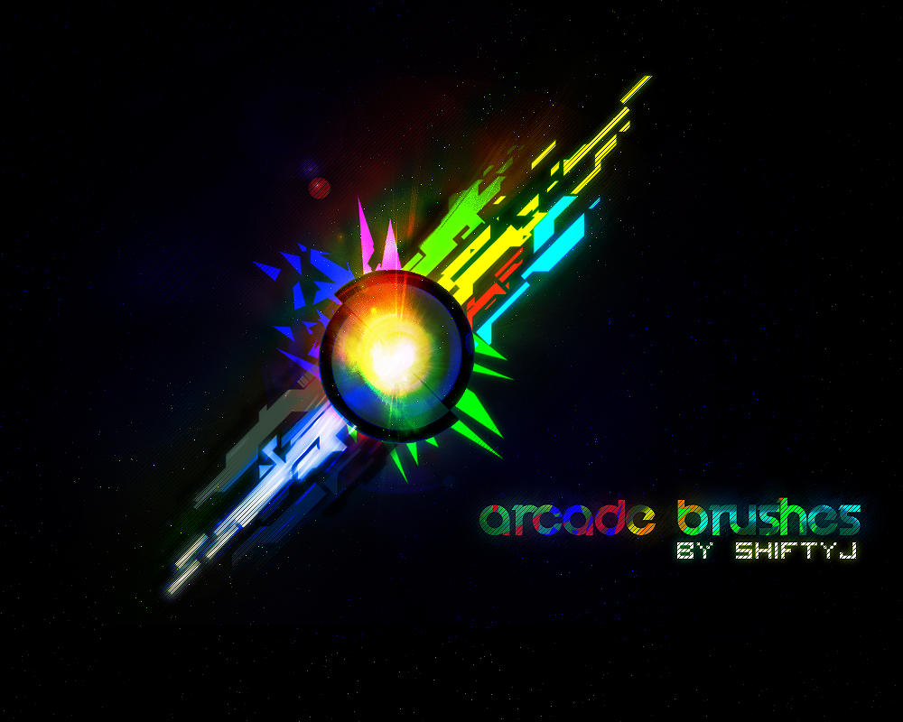 Arcade Brushes by ShiftyJ