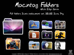 Macintag Folders. White Edge