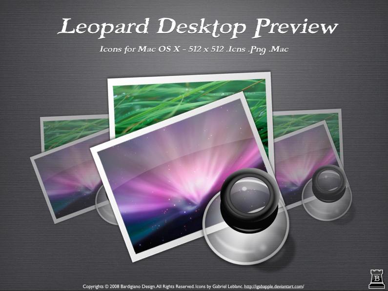 Leopard Desktop Preview by igabapple