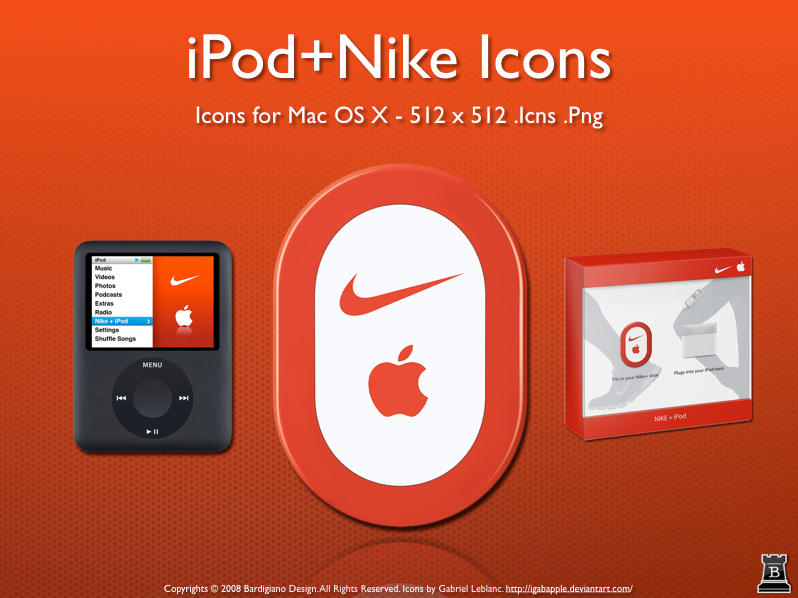 iPod+Nike Icons