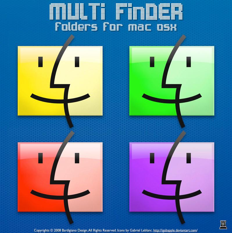 Multi Finder Icons by igabapple