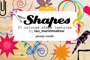 Shapes I by LaU-marshmallow