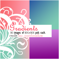 Gradients 1 by LaU-marshmallow