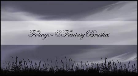 Foliage Brushes by FantasyBrushes