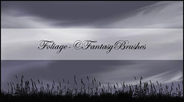 Foliage Brushes by FantasyBrushes