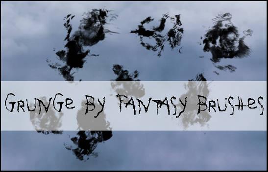 Grunge Brushes by FantasyBrushes