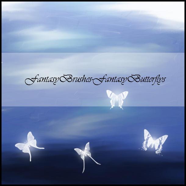 FantasyButterflys by FantasyBrushes