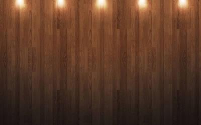 Hardwood w Lights