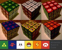 Nintendo Rubik's Cube by ex-m