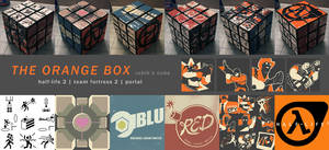 The Orange Box Rubik's Cube