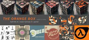 The Orange Box Rubik's Cube