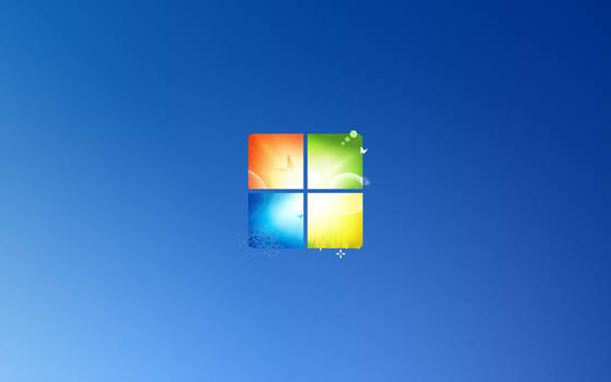 Windows 10X/7 Wallpaper stylized like Windows 11