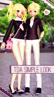 || MMD - TDA Rin and Len Simple Look + DL ||
