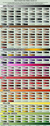 Vibrant Cell-shading Swatch Pallete by NixieSeal