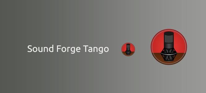 Sound Forge Tango Icon by alexiy777