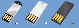 Slim Flash Drives Icons