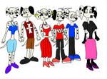 Teenage Dearly Dalmatians 4 (Colored)