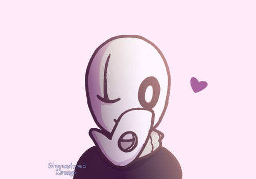 smol void blows a kiss