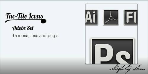 Tac-Tile Icons, Adobe