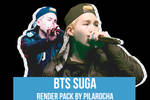 BTS Suga Render Pack (PSD)