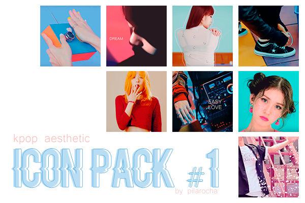 kpop icon pack  1  aesthetic  by pilarocha dbcl230 fullview