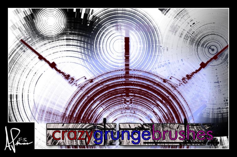 Crazy Grungish Brushes by DemosthenesVoice