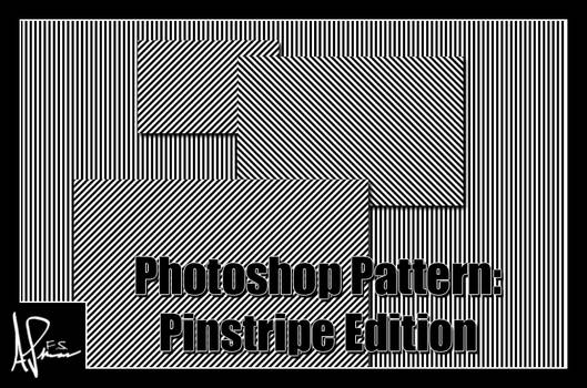 Photoshop Pattern: Pinstripe