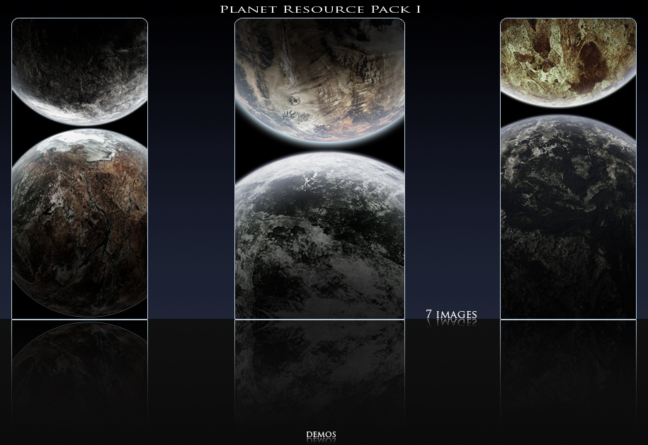 Planet Resource Pack 1